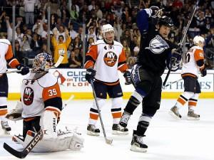 Islanders at Tampa 2009