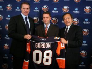 Much happier times for Scott Gordon